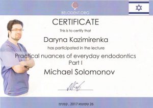 сертификат 2017 Казимиренко Д.В.