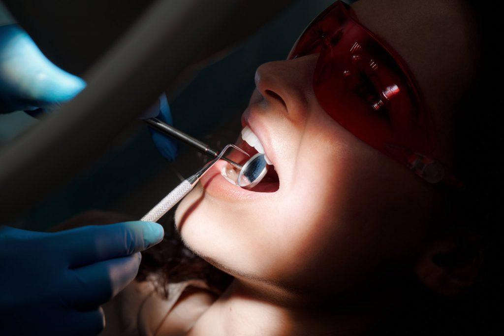 шинирование зубов минск